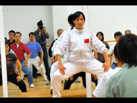 Workshop by Guest Instructors from the International Health Qi Gong Federation, China